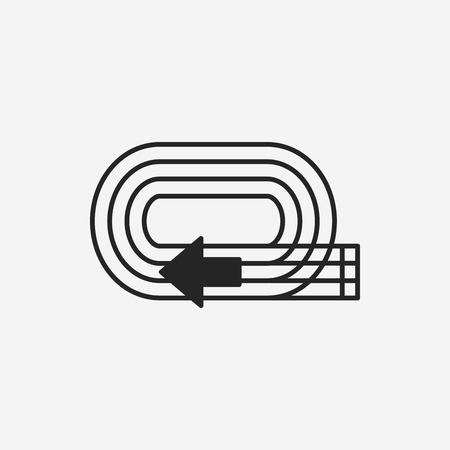 emulation: Playground track icon Illustration