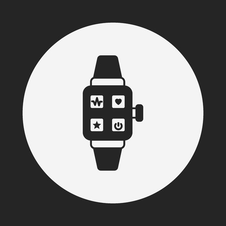 apple isolated: sport watch icon