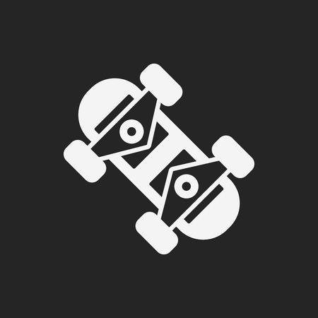 skate board: skate board icon