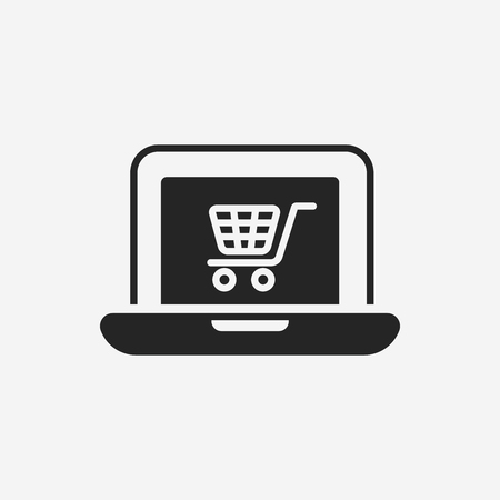 online shopping icon Illustration