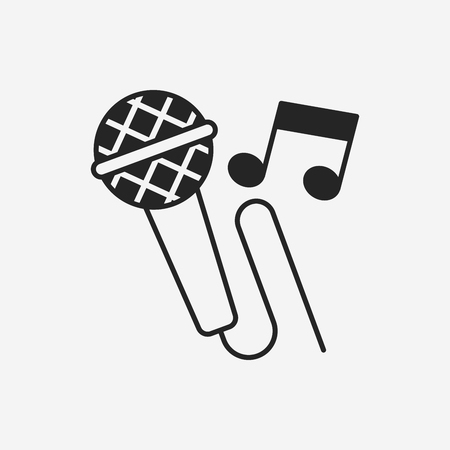 record: record microphone icon Illustration