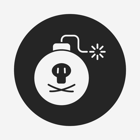 cannonball: Cannon bomb icon