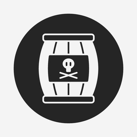 wine barrel: wine barrel icon