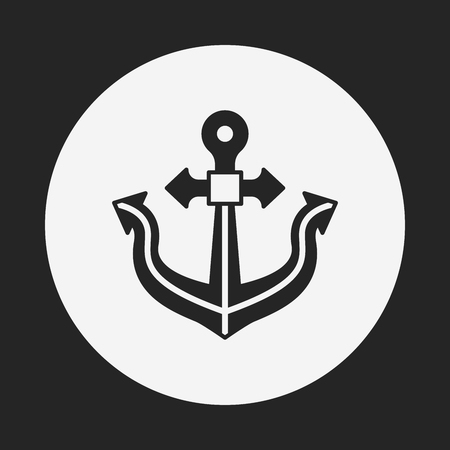 retention: Anchor icon Illustration