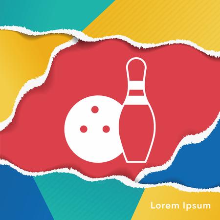 bowling strike: bowling icon