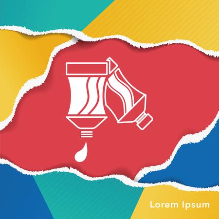 pigment: Pigment paint icon