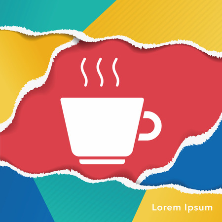 coffee: hot coffee icon