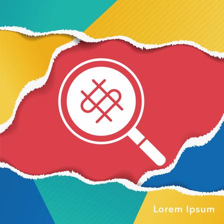 to find: find money icon Illustration