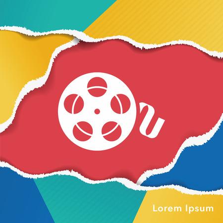 vhs videotape: video tape icon