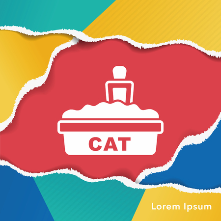 filler: cat litter box icon
