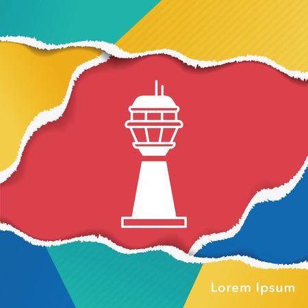 pylon: Base station icon Illustration