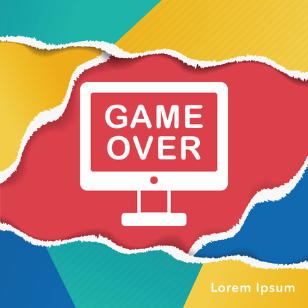 over: game over icon