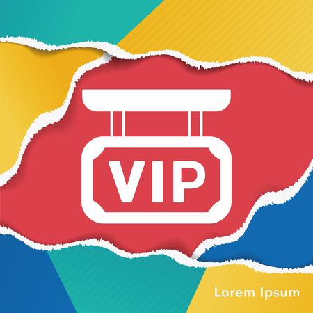 famosos: icono vip aeropuerto Vectores