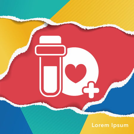 elixir: game life icon Illustration