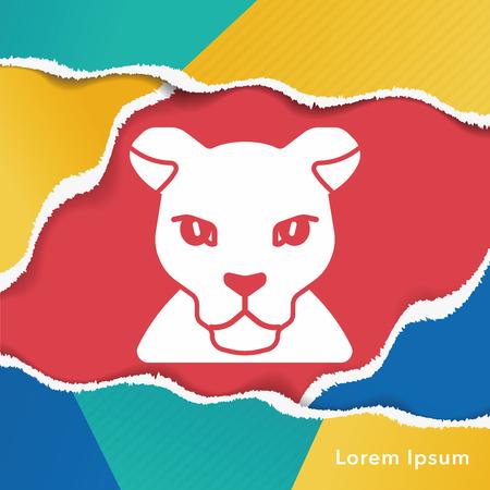 leopard: animal leopard icon
