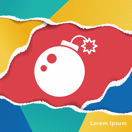 cannon ball: Cannon bomb icon