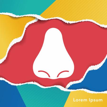 neus: nose icon