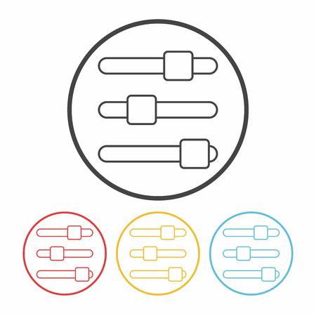 volume control: volume control line icon