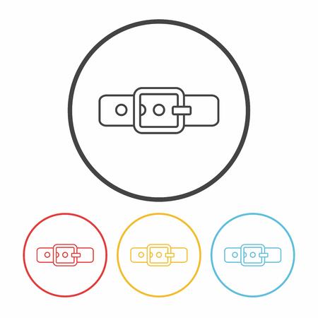 strap: Strap line icon