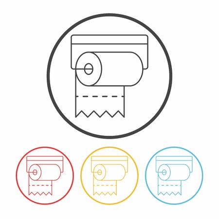tissue line icon