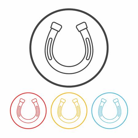 saddle: saddle line icon Illustration