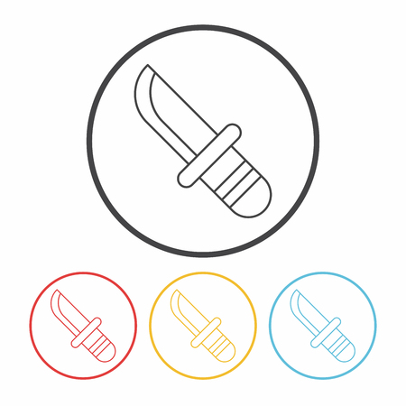 utility knife: Utility knife line icon