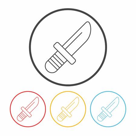 utility: Utility knife line icon