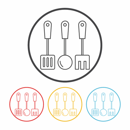 spatula: Spatula line icon