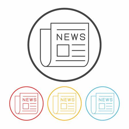reportage: news line icon