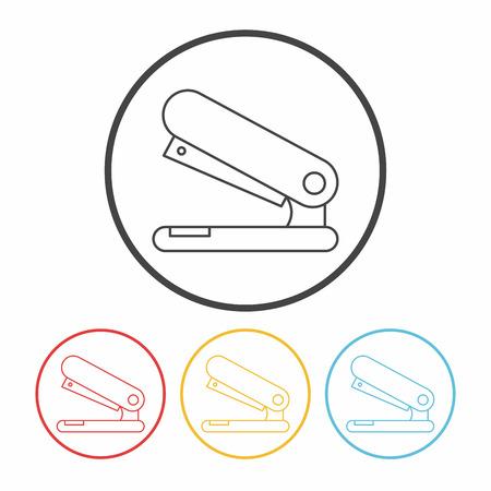 staple: Stapler line icon
