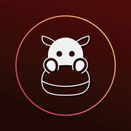 pets background: animal icon Illustration