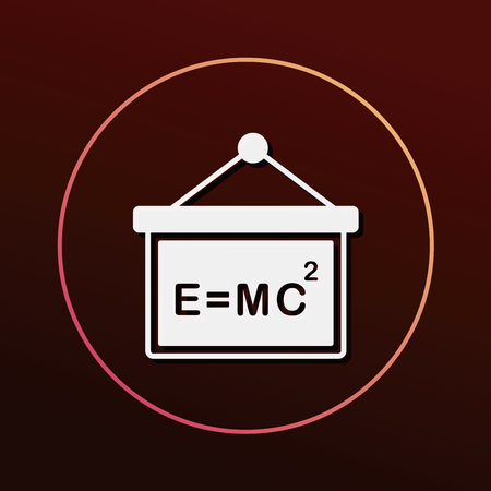 physics background: Physics class icon