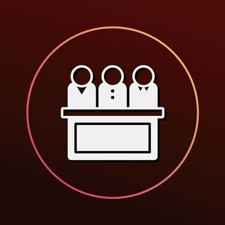 jury: Jury icon