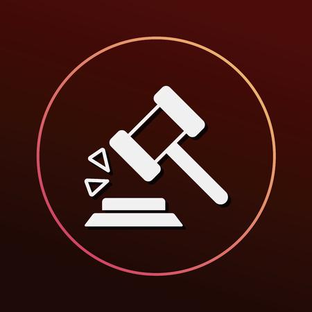 auction: gavel icon