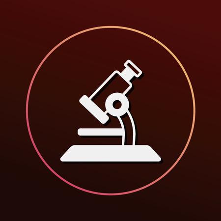 laboratory equipment: Microscope icon