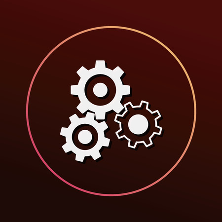 business equipment: Gear icon