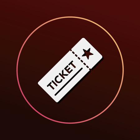 ticket icon: ticket icon