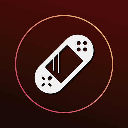 handheld device: Handheld game consoles icon