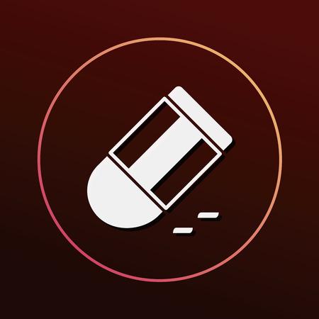 eraser: eraser icon