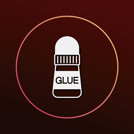 glue: glue icon