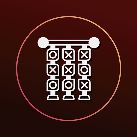 x games: Tic Tac Toe icon