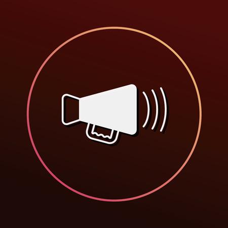 sounding: Sound equipment icon