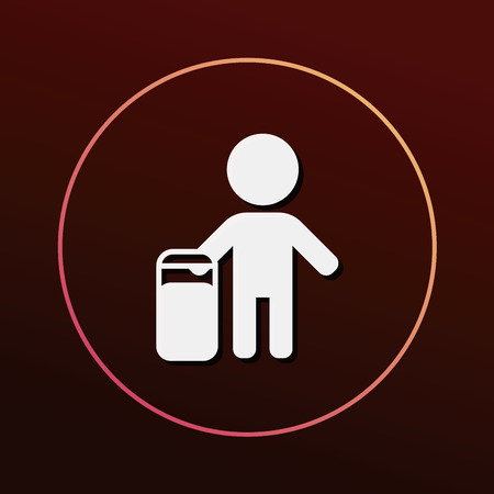 the passenger: passenger icon