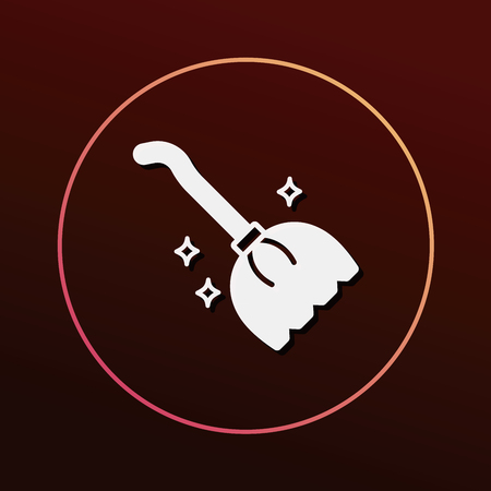 wicked witch: Magic broom icon