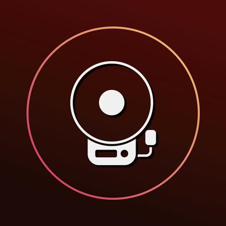 alarm icon 일러스트