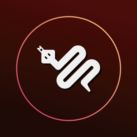 zoo: animal icon Illustration