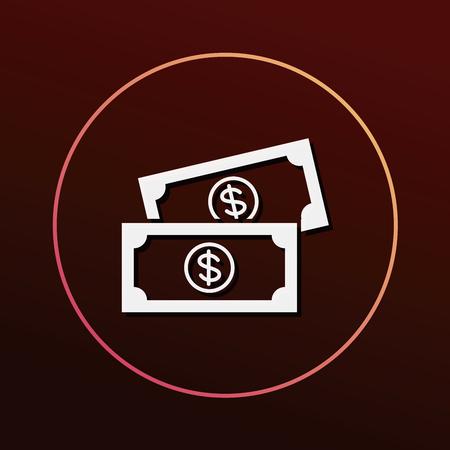 cash money: money cash icon