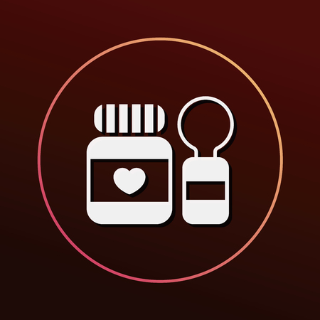 baby with spoon: baby spoon and fork icon