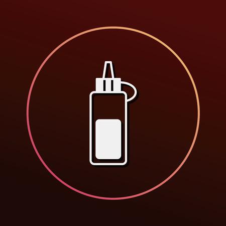 sauce: sauce bottle icon