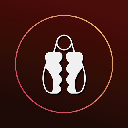 grip: grip exerciser icon
